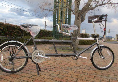 タンデム自転車、レンタル開始!! 1日5千円(税込み)
